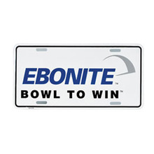 Ebonite License Plates